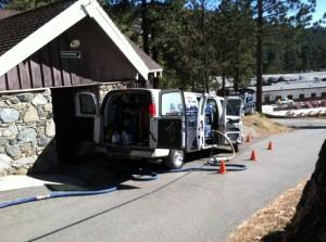 Van at Mountain High