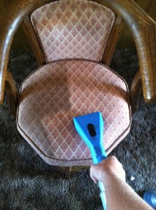 Chair Cleaning During