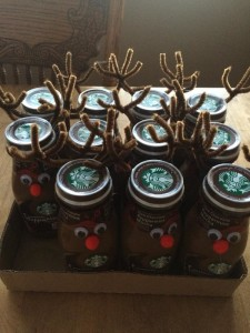 Reindeer Starbucks Marketing Gift - Select Few