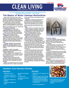 April 2015 front newsletter