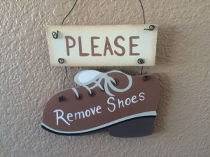 Shoe Sign 2