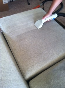 Upholstery Cleaning couch by Josh Not so dirty