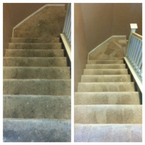 Stairs Before & After