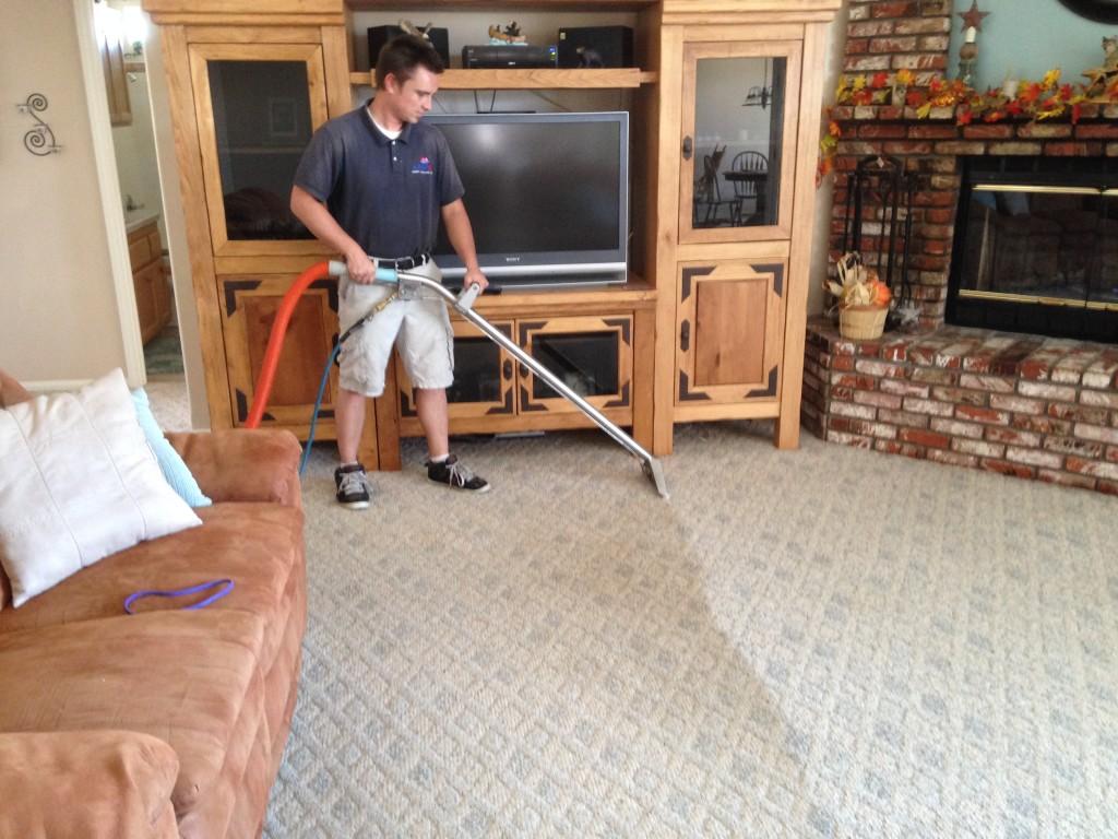 Josh Cleaning